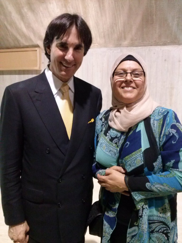Dr Demartini and I