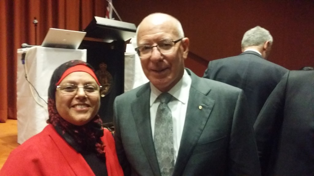 Najla and GG David Hurley